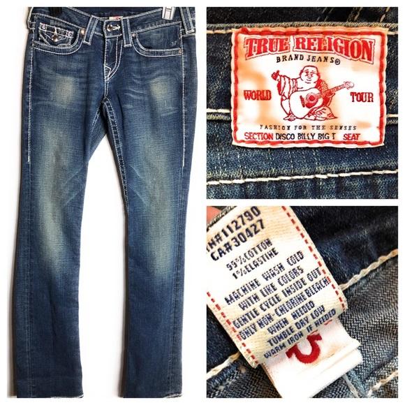 True Religion Denim - True Religion Disco Billy Big T Jeans